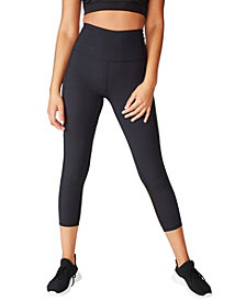 COTTON ON Workout Rib Mesh 7/8 Tights