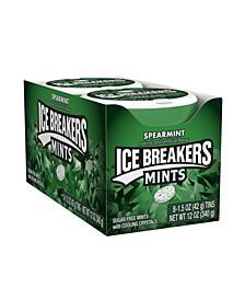Sugar Free Mints in Spearmint, 1.5 oz, 8 Count