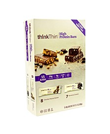 ThinkThin High Protein Bars Variety 20 Gram Protein, 15 Count