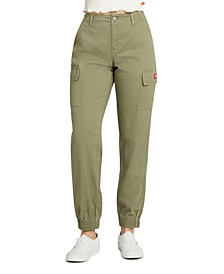Junior's Cargo Utility Jogger Pants