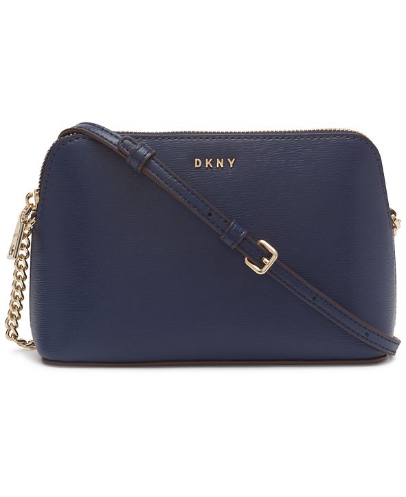 DKNY Leather Bryant Dome Crossbody