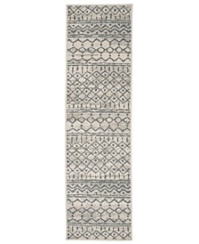 Hartford 219 Cream 2' x 7' Runner Area Rug