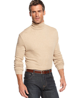 Mens big and tall turtleneck sweater long sweater jacket for Big and tall mock turtleneck shirt