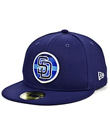 Men's San Diego Padres Circle Fade 59FIFTY-FITTED Cap