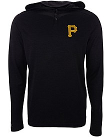 Pittsburgh Pirates Men's Fuel Hooded Henley Top