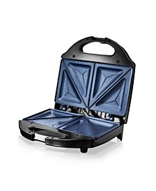 Ultra-Durable Nonstick Diamond Infused Sandwich Maker