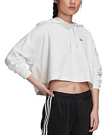 Women's 3-Stripe Cropped Hoodie