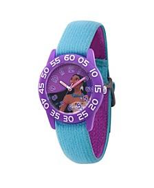 Disney Princess Pocahontas Girls' Purple Plastic Watch 32mm