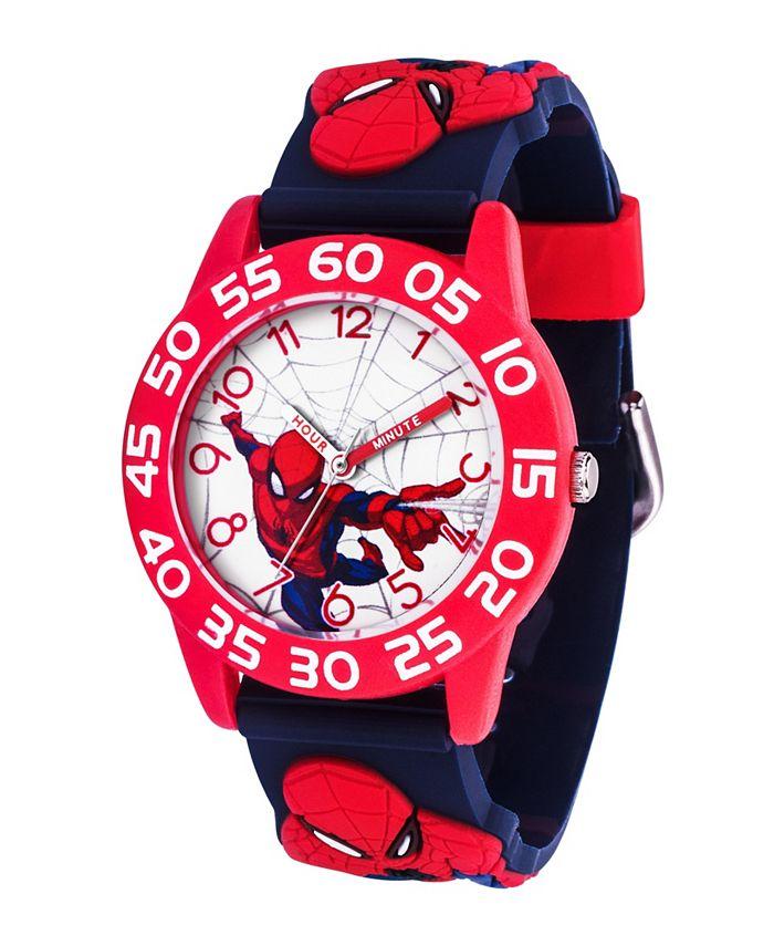 ewatchfactory - Marvel Spider-Man Boys' Red Plastic Watch 32mm