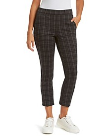 Women's Pull On Crop Trouser Pant
