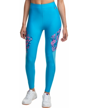 Champion PRINTED COLORBLOCKED LEGGINGS