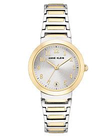 Anne Klein Women's Two-Tone Bracelet Watch 32mm