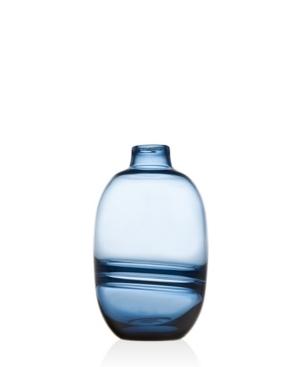 Blue Bayou mixed blue colours Vase.