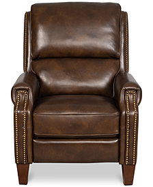 Arianlee Leather Push Back Recliner