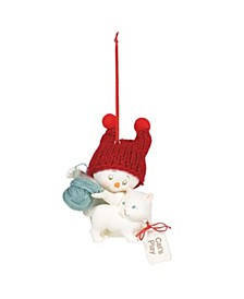 Snowpinions Cat's Play Ornament