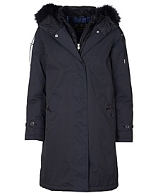 Braan Waterproof Hooded Parka Coat