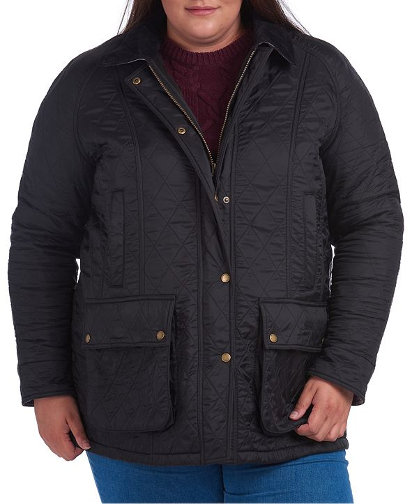 Barbour Plus Size Beadnell Polarquilt Coat