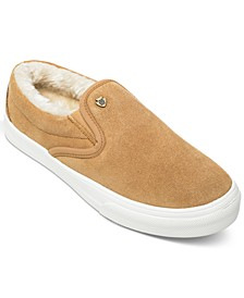 Wilder Pile-Lined Slip-On Sneakers