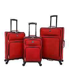 Intercept 3-Piece Softside Luggage Set
