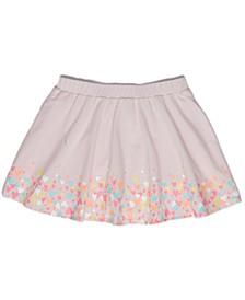 Toddler Girls Ditsy Heart Scooter Skirt