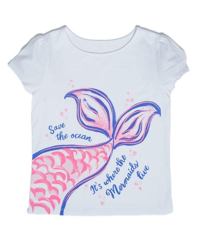 Epic Threads Little Girls Mermaid Tail T-shirt