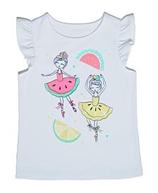 Toddler Girls Fruity T-shirt