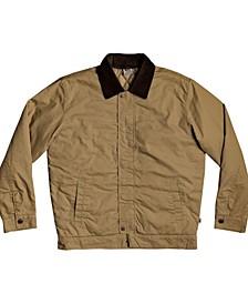 Men's Canvas Cord Collar Jacket