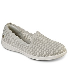 Women's On The Go Capri - Wavy Slip-on Casual Sneakers from Finish Line