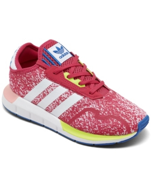 Adidas Originals ADIDAS LITTLE GIRLS SWIFT RUN X CASUAL SNEAKERS FROM FINISH LINE