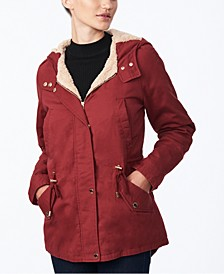 Juniors' Hooded Anorak Jacket, Created for Macy's