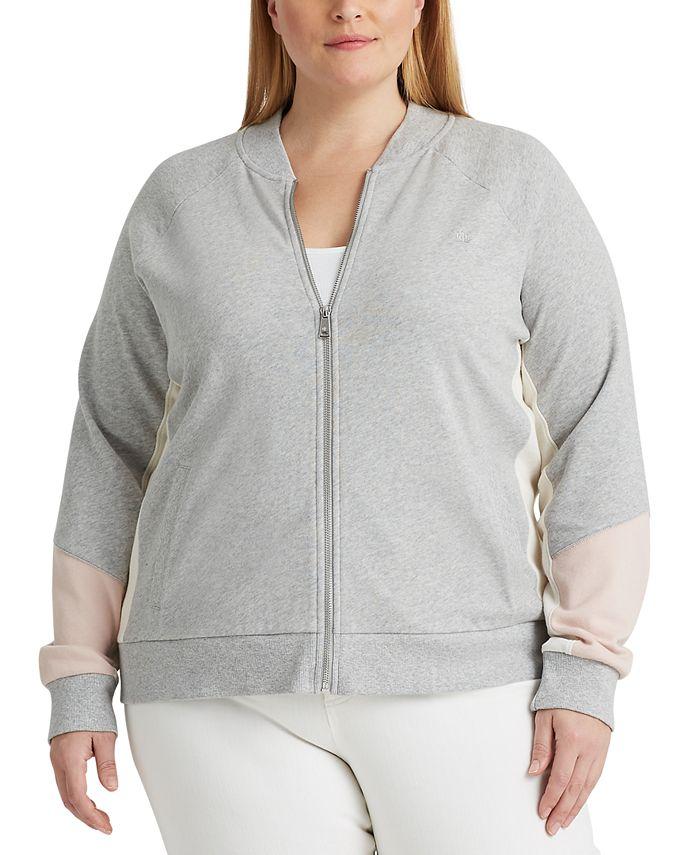 Lauren Ralph Lauren - Plus SizeFrench Terry Cotton Jacket