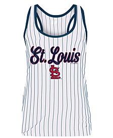 Women's St. Louis Cardinals Pinstripe Tank