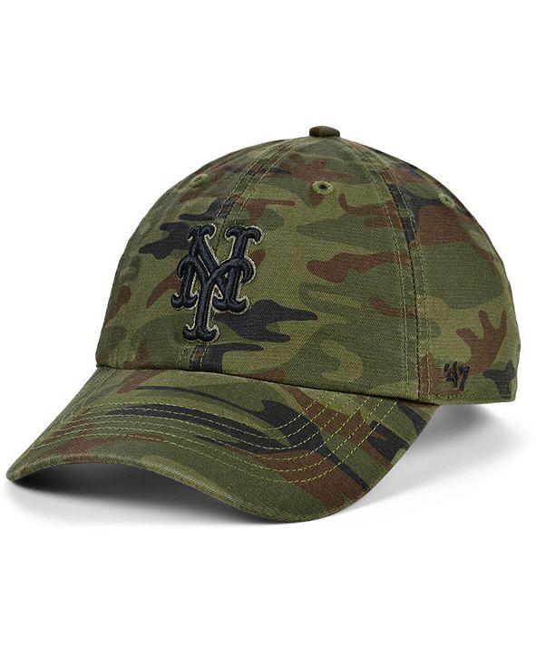 '47 Brand New York Mets Regiment CLEAN UP Cap