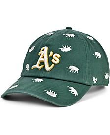 Oakland Athletics Women's Confetti Adjustable Cap