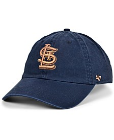 Women's St. Louis Cardinals Metallic Clean Up Cap