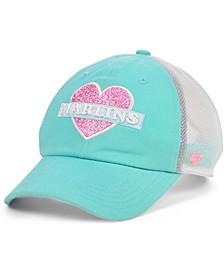 Girls Miami Marlins Mermaid Heart MVP Cap
