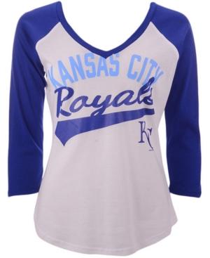 G-iii Sports Women's Kansas City Royals Its A Game Raglan T-Shirt