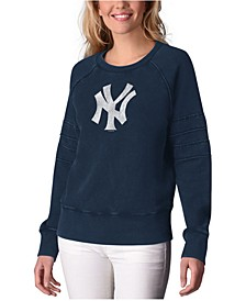 Women's New York Yankees Bases Loaded Scoop Neck Top