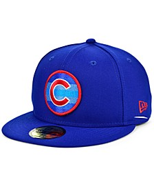 Men's Chicago Cubs Circle Fade 59FIFTY Cap
