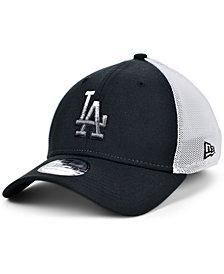 New Era Men's Los Angeles Dodgers Black White Gradient Trucker 39THIRTY Cap