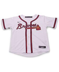 Atlanta Braves Toddler Official Blank Jersey