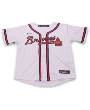 Nike Atlanta Braves Toddler Official Blank Jersey