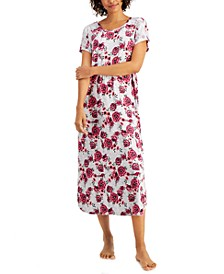 Short Sleeve Maxi Nightgown, Created for Macy's