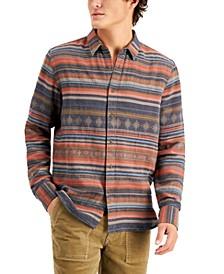 Men's Land Stripe Shirt, Created for Macy's