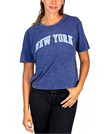 Juniors' New York Graphic T-Shirt