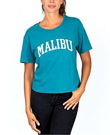 Juniors' Malibu Graphic T-Shirt