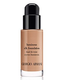 Giorgio Armani Luminous Silk Liquid Foundation Travel Size Mini, 0.6-oz.