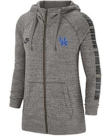 Kentucky Wildcats Women's Gym Vintage Full Zip Hoodie