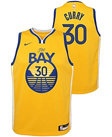 Kids' Stephen Curry Golden State Warriors Statement Swingman Jersey
