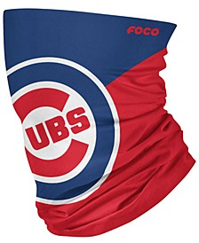 Chicago Cubs Colorblock Big Logo Gaiter Face Mask Scarf
